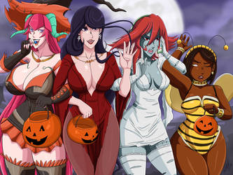 Halloween Milf Edition 5 by Ninja-8004