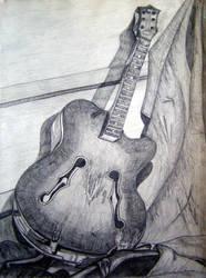 Martwa natura z gitara by Kejti2002