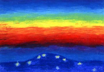 Gorskie wsie wieczorem by Kejti2002