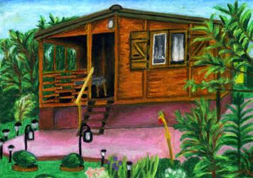 Domek na dzialce by Kejti2002