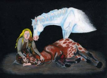Dzana i umierajacy Cel by Kejti2002
