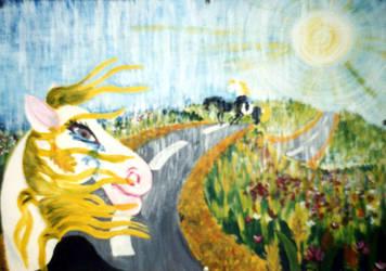 Maria na szosie by Kejti2002