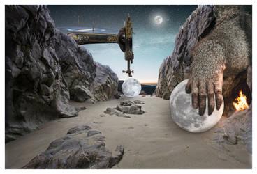 moon maker by davidrabin