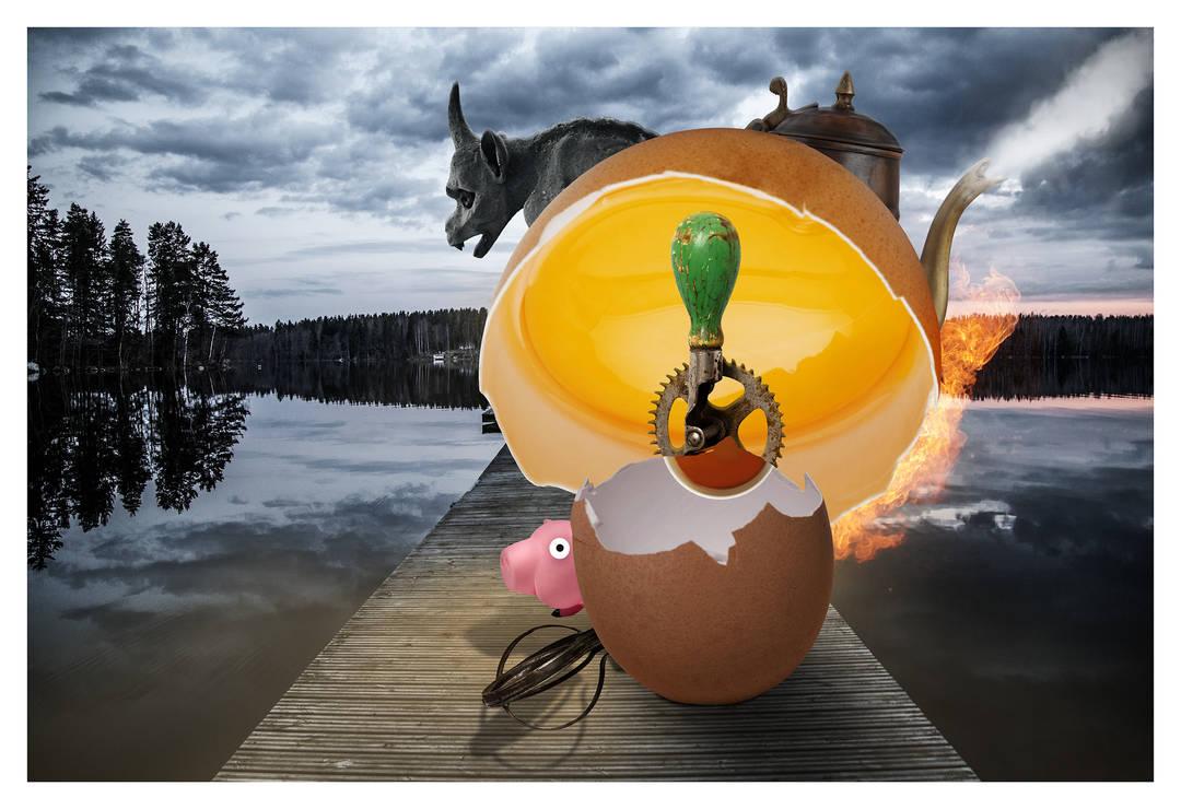 Ham and Eggs by davidrabin