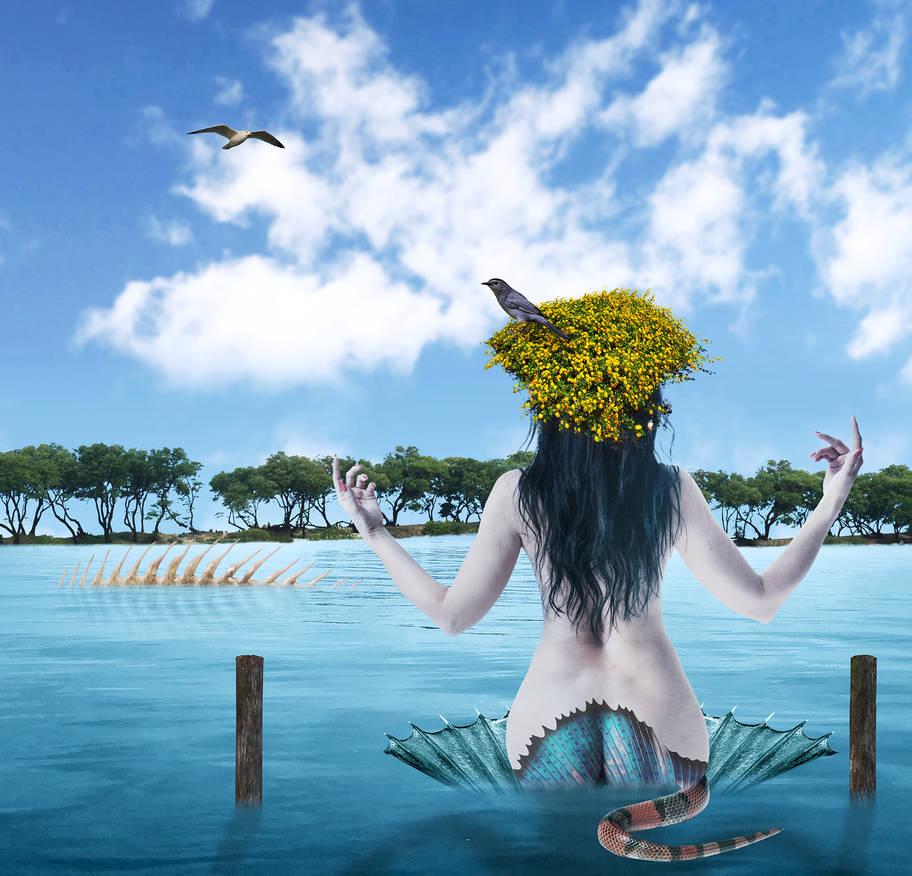 Island Girl by davidrabin
