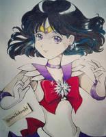 Sailor Saturn 2 by umikohoshi