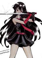 Akame ga Kill 1 by umikohoshi