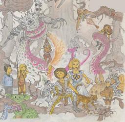 Heroes of Deep Space by alexine-pankhurst