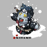 Kisame waiting for Christams 3 by Fomle-chan