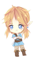 Don't cry, Link! by Shiiokou