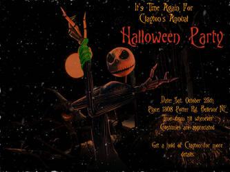 Halloween invitation by Bellevue-DarkKnight