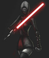 Ventress new outfit by RaikohIllust