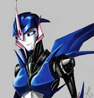 Autobot Arcee by RaikohIllust