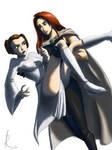 Mara saves Leia by RaikohIllust