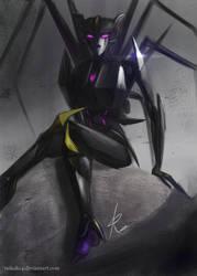 Airachnid the deadly spider bot by RaikohIllust