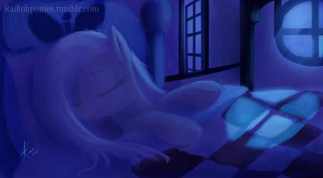 Night Fluttershy by RaikohIllust