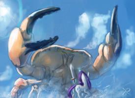 Holy crab! by RaikohIllust
