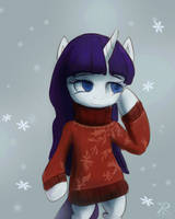 Time For Wearing Big Sweaters. by RaikohIllust
