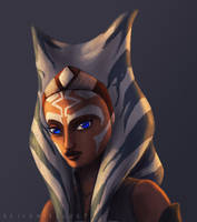 Ahsoka Tano -rebel leader by RaikohIllust
