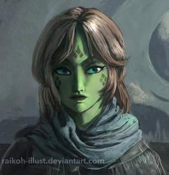 Jyn Erso by RaikohIllust
