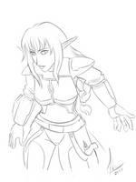 Aira-ty sketch by RaikohIllust