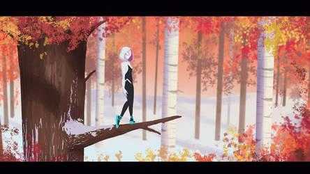 Spider-Gwen by RaikohIllust