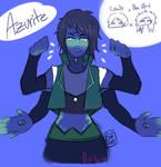 fsn: azurite by oniyuca