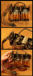 Steampunk Bunsen Battery by batman-n-bananas