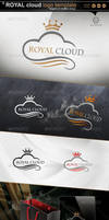 Royal_ Cloud_ logo template by gomez-design