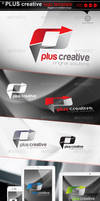 PLUS creative _logo template by gomez-design