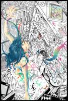 Collab : The Art Brings Colour by Hieyizar