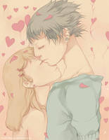 Kiss your eyes by Hieyizar