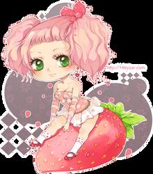 Like a strawberry by Hieyizar