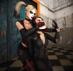 Catwoman Chloroformed by BlakKnight08