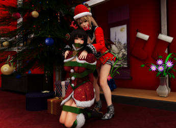Marie's Christmas Surprise by BlakKnight08