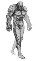 sci-fi dude by GeorgeVostrikov