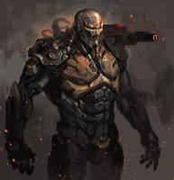 cyborg cocnept2 by GeorgeVostrikov