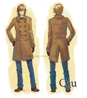 Qiu character design by Celsa