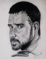 Russell Crowe - Gladiator by BloodLust-666