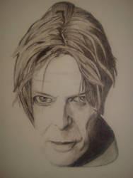 David Bowie by BloodLust-666