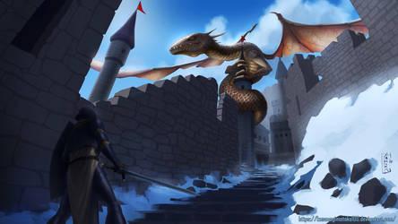 Dragon Slayer by kusanagimotoko100