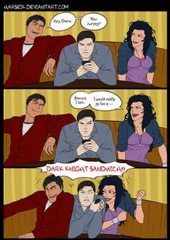 Dark Knight Sandwich by Harseik