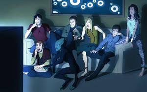 Justice Movie Night by Harseik