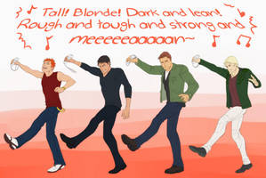 The Justdance League by Harseik