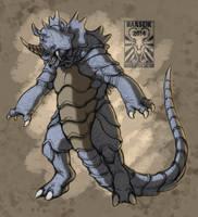 Pokemon - Rhydon Concept by Harseik