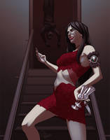 Countess Bathory - Commission by Harseik