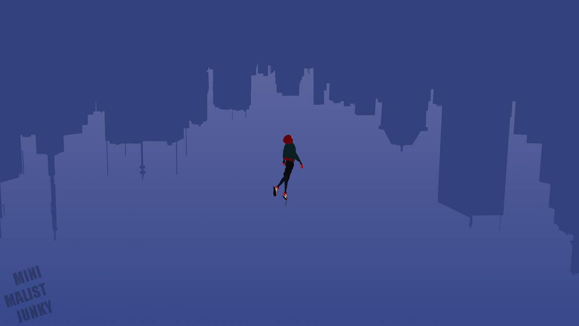Into the Spiderverse Minimalist Wallpaper by MinimalistJunky