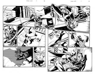 Catwoman Sample Pages 1 and 2 by thecreatorhd