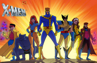X-Men Animated Bruce Timm Style by thecreatorhd