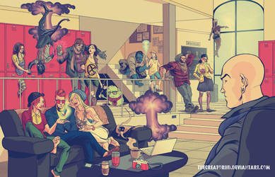 Hipster X-Men by thecreatorhd